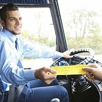 Бумажный билет, выдаваемый водителем должен содержать ссылку на электронный документ